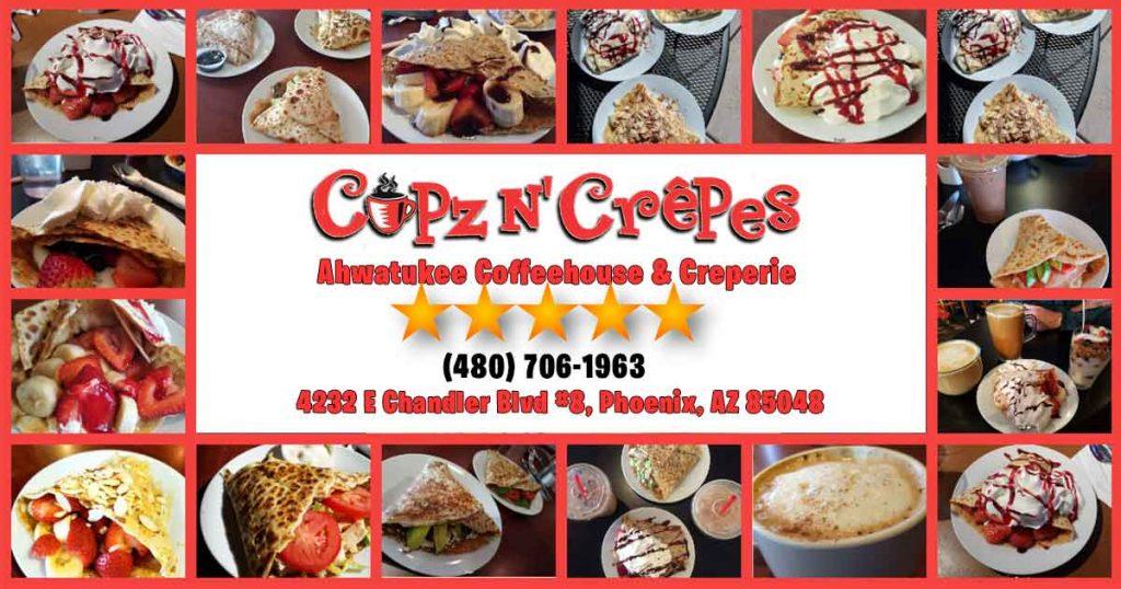 Cupz N' Crêpes | Ahwatukee Coffee Shop (480) 706-1963